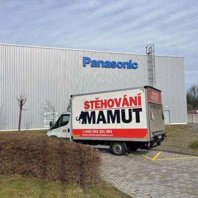 Stěhování pro firmu Panasonic